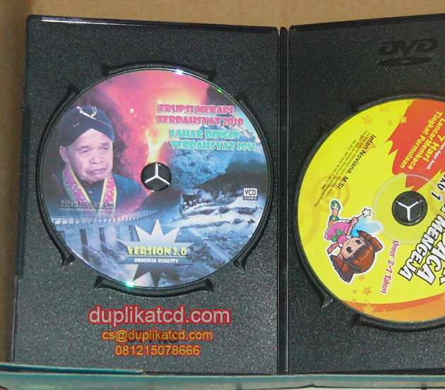 CD dokumentasi Merapi