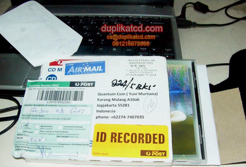 CD souvenir pernikahan