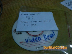 Copy DVD Jogja